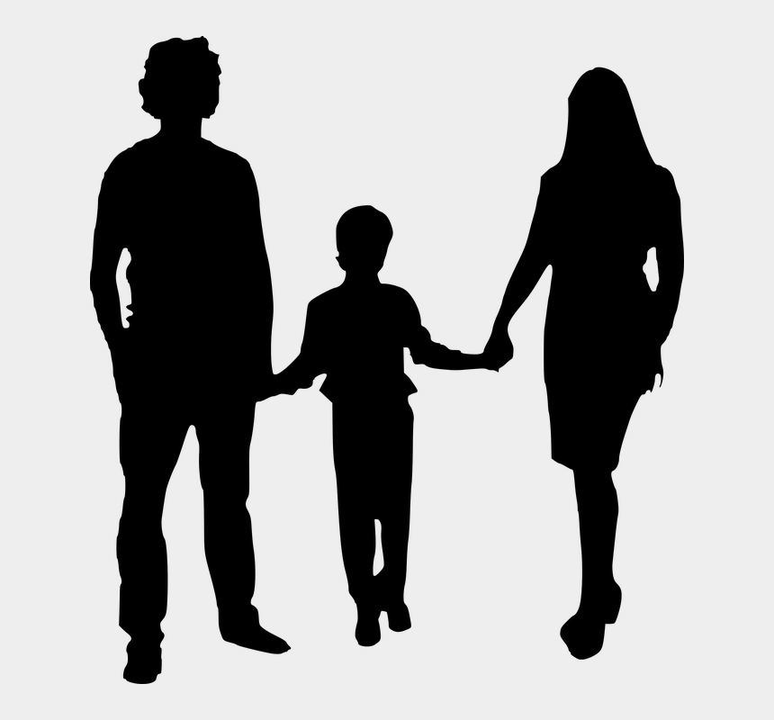 father clipart, Cartoons - Silhouette, Mother, Father, Isolated - Mom And Dad Clipart Black And White