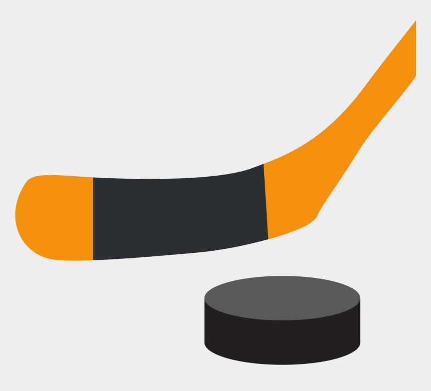 hockey stick clipart, Cartoons - Ice Hockey Stick And Puck - Ice Hockey Emoji