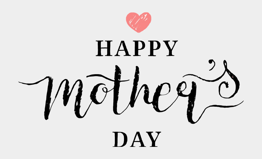happy mothers day clipart, Cartoons - Happy Mother's Day Png Clipart , Png Download - Calligraphy