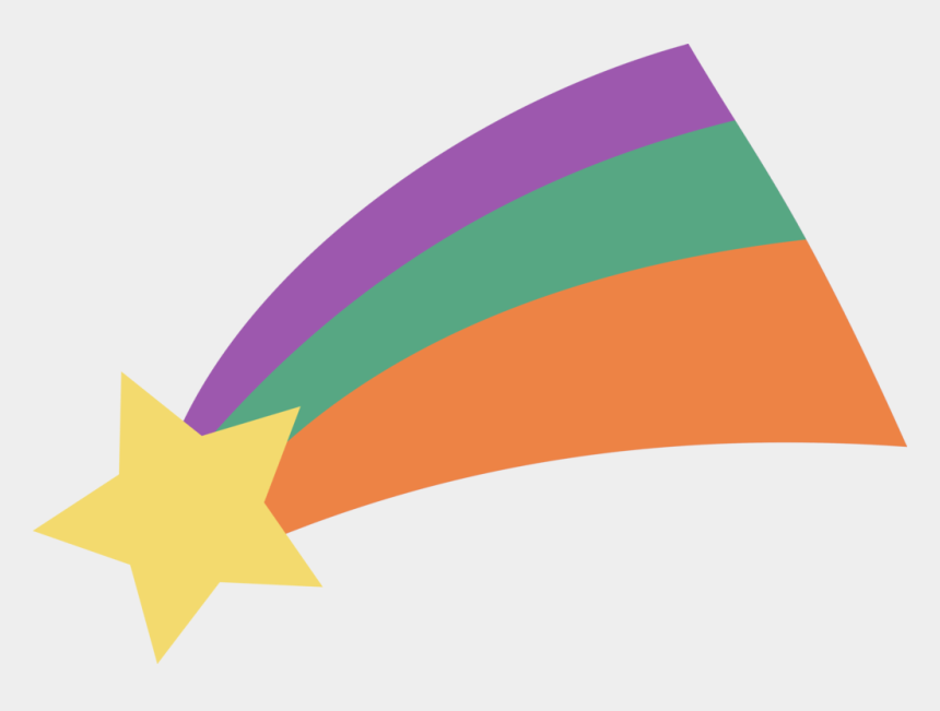 shooting star clipart, Cartoons - Flat Design Transparent Png Stickpng Ⓒ - Shooting Star Gravity Falls Png