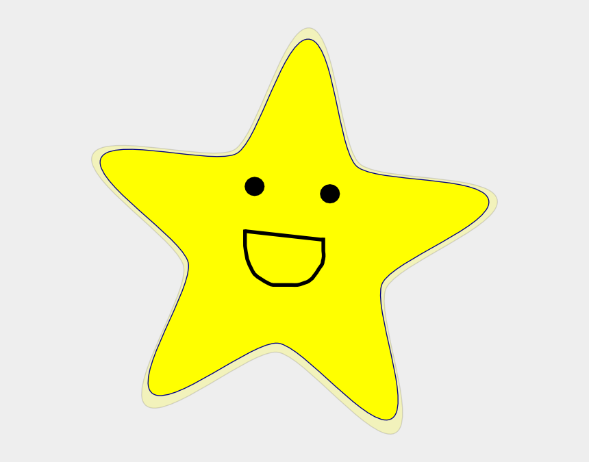 shooting star clipart, Cartoons - Shooting Star Clipart Happy Star - Animated Stars With Black Background
