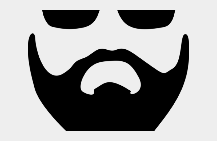 mustache clipart, Cartoons - Mustache Clipart Chasma - Emoji With Glasses And A Beard