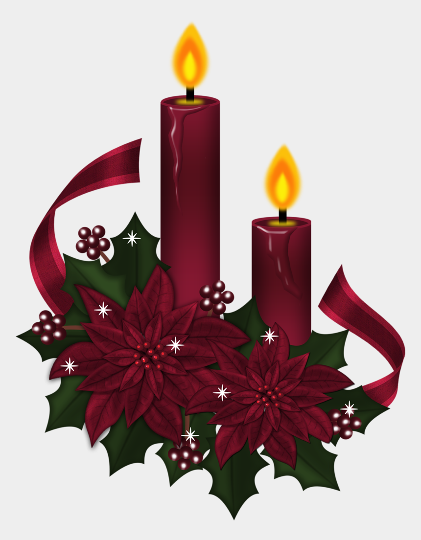 candle clipart, Cartoons - Candle Clipart Old Fashioned - Christmas Candles Clip Art
