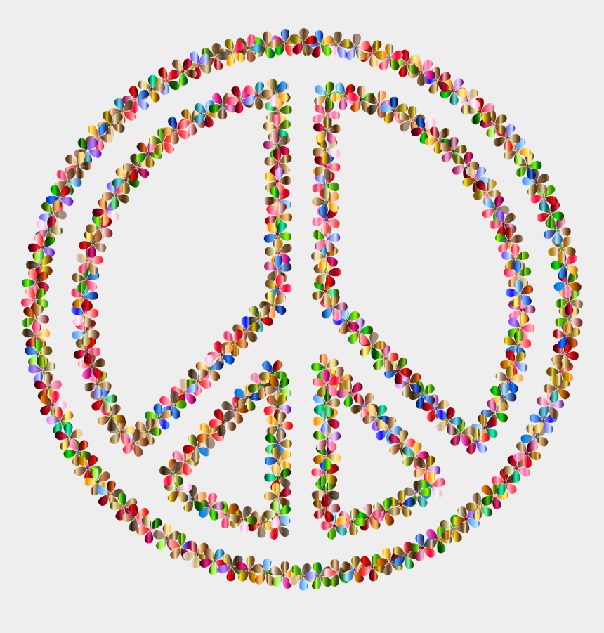 peace clipart, Cartoons - Peace Symbol Clipart Clear Background - Peace Sign Coloring Pages