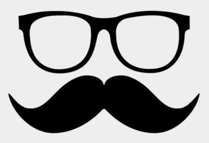 mustache clipart, Cartoons - Mustache Clipart Nerd Glass - Png Mustache