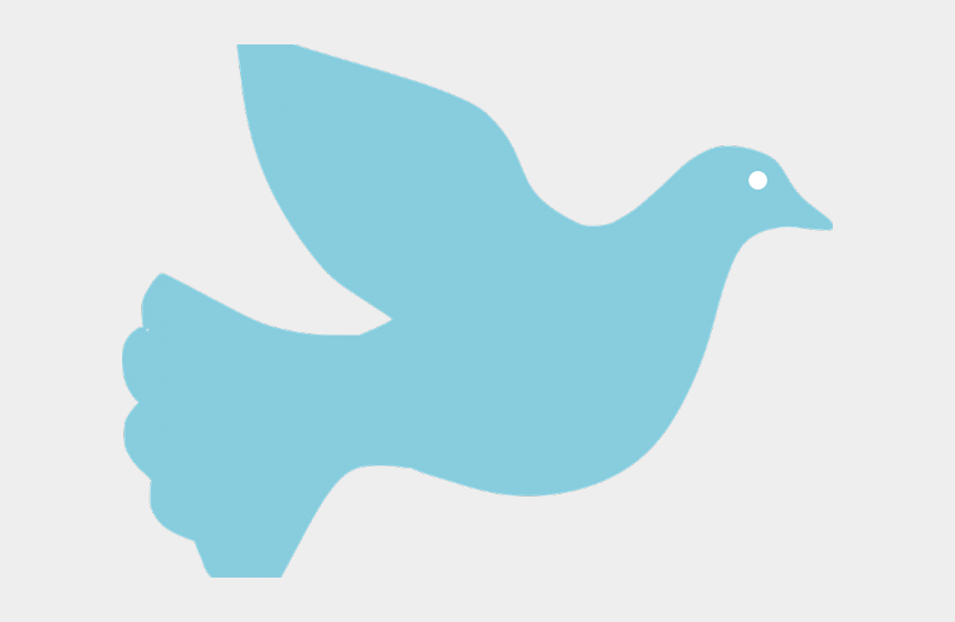 Peace Dove Clipart Blue Dove - Dove Silhouette, Cliparts