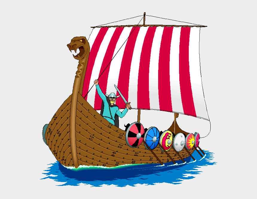 viking clipart, Cartoons - Ship Clipart Anglo Saxon - Cerro Villa Middle School