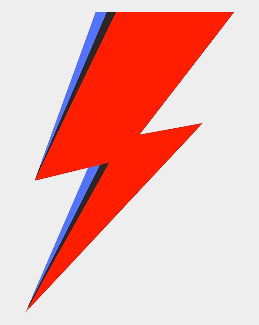 Red Lightning Bolt Png - David Bowie Lightning Bolt Logo