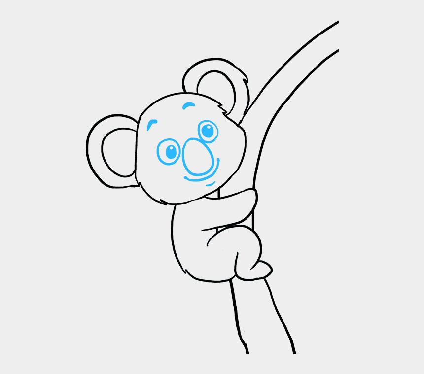 koala clipart, Cartoons - How To Draw A Koala - Draw A Koala Easy