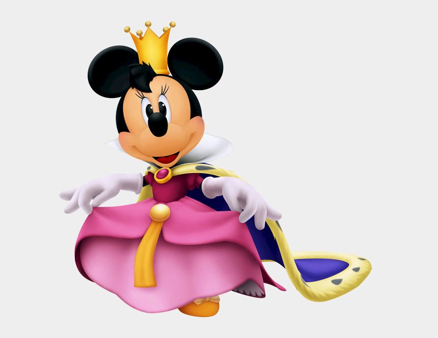 queen clipart, Cartoons - Queen Clipart Minnie Mouse - Minnie Kingdom Hearts 3