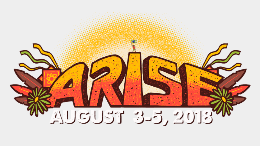 august clipart, Cartoons - Festival Clipart August - Arise Music Festival Logo