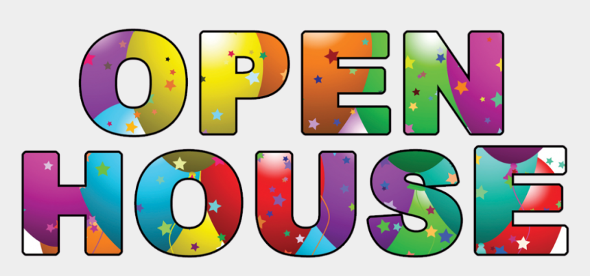 june clipart, Cartoons - 12 - 00 Pm - Open House