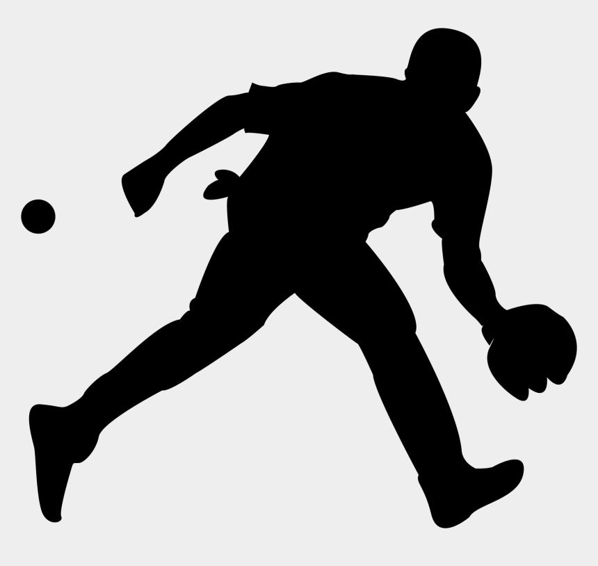 Baseball Silhouette Clip Art Transparent Background Baseball Player Silhouette Cliparts Cartoons Jing Fm