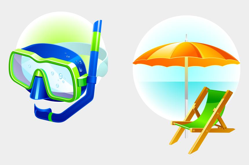 sky diving clip art, Cartoons - Summer Vacation Vector Png