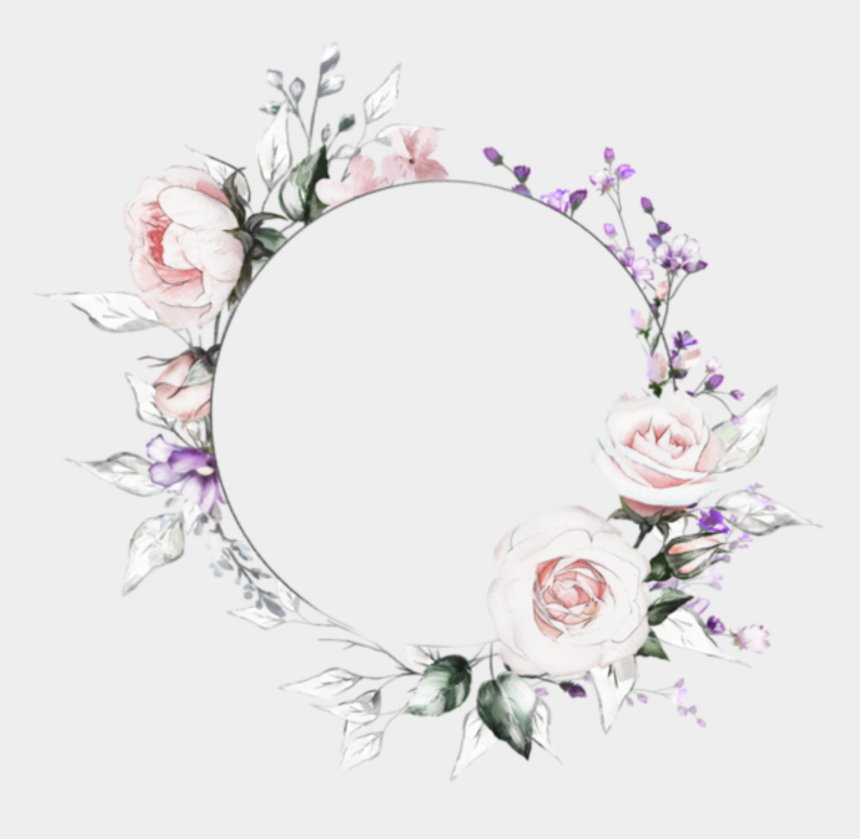 flower crown clip art, Cartoons - Floral Instagram Highlight Cover