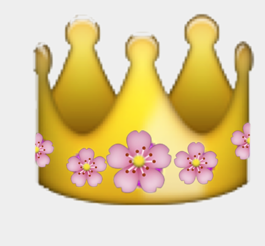 flower crown clip art, Cartoons - Crown Flowercrown Emoji Flower Flowersfreetoedit - Emojis De Whatsapp Corona