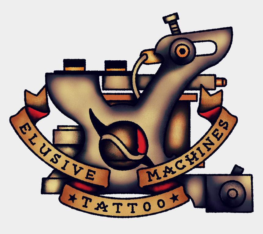 tattoo machine clip art, Cartoons - Hand Built Tattoo Machines - Tattoo Machine Tattoo On Hand