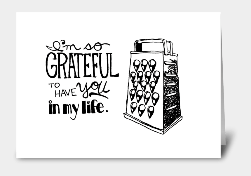 "gratitude clip art, Cartoons - I""m So Grateful To Have You In My Life Greeting Card - I M So Grateful For You"