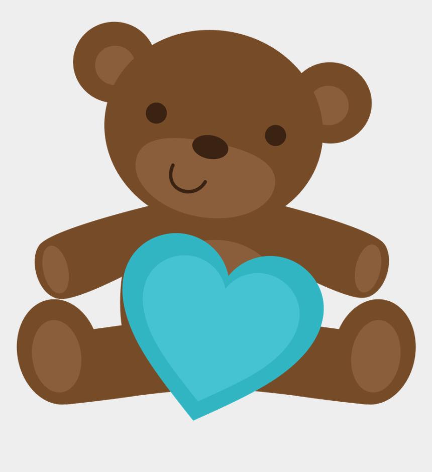 brown bears clip art, Cartoons - Ursinhos E Ursinhas - Baby Boy Bear Clipart