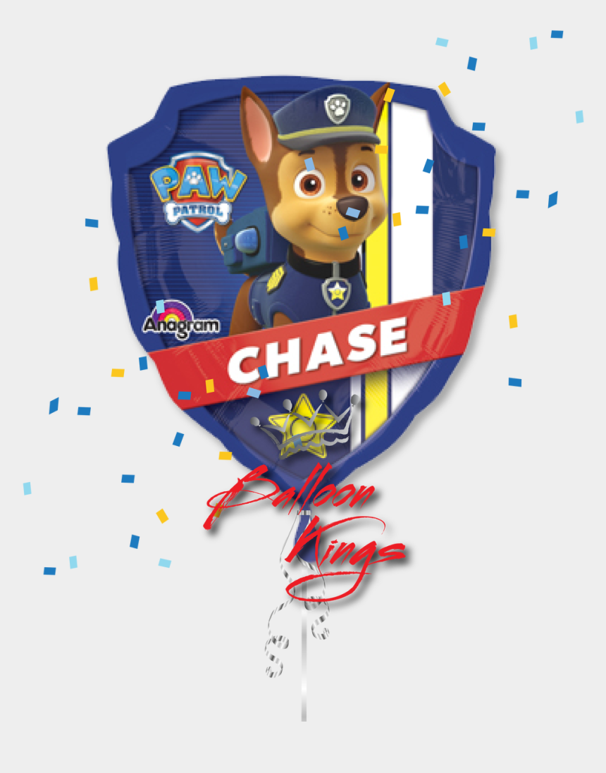 chase clipart, Cartoons - Paw Patrol Chase - Paw Patrol Foil Balloon