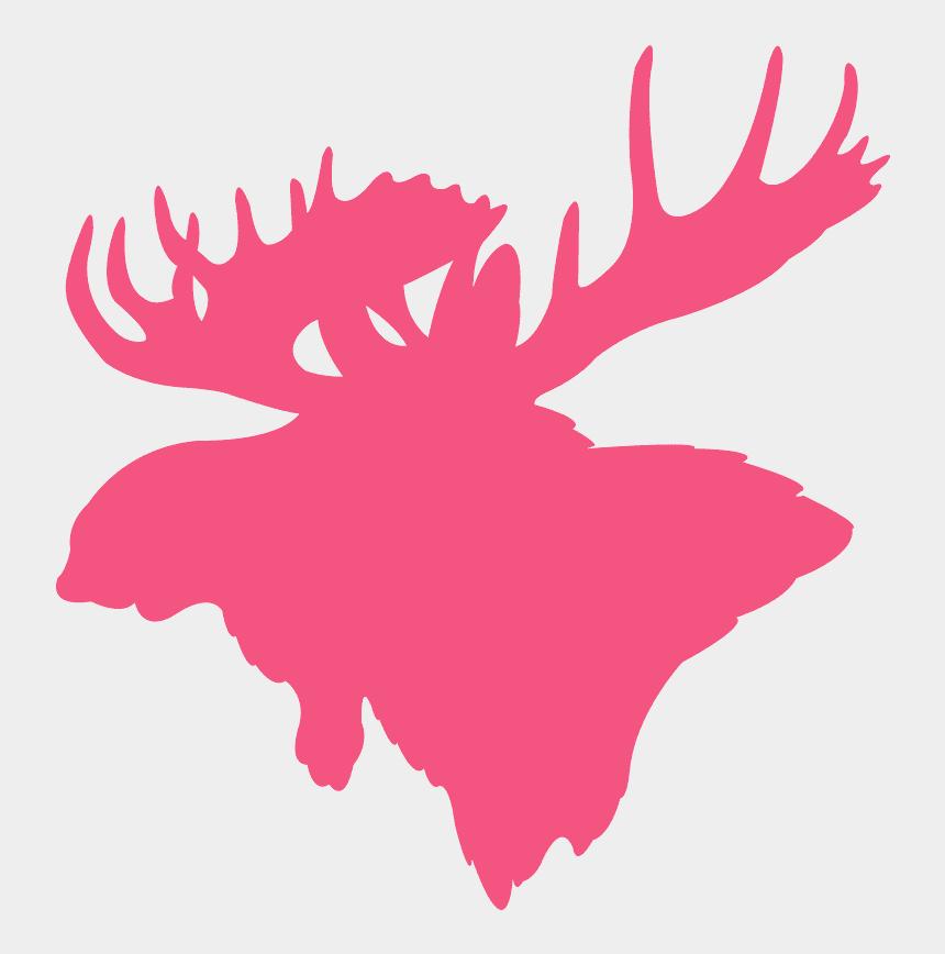 elk silhouette clip art, Cartoons - Just Really Like Moose