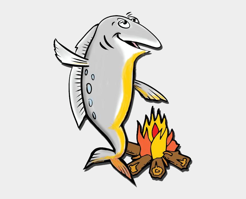 cooked fish clip art, Cartoons - Smoked Salmon Clip Art