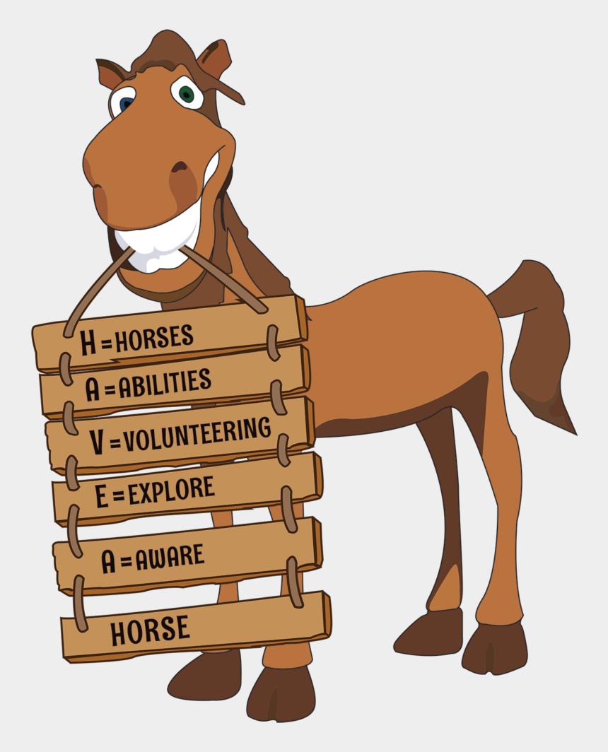 cute horse head clip art, Cartoons - Cartoon Picture Of Horse - Horse Volunteering Cartoon