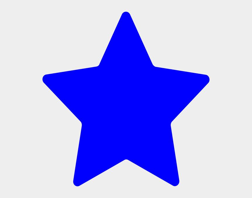 star cluster clip art, Cartoons - Cute Blue Star Clipart