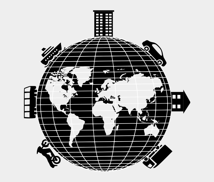 """earth day clip art black and white, Cartoons - Free Clip Art """"picture - World Map Africa In Center"""