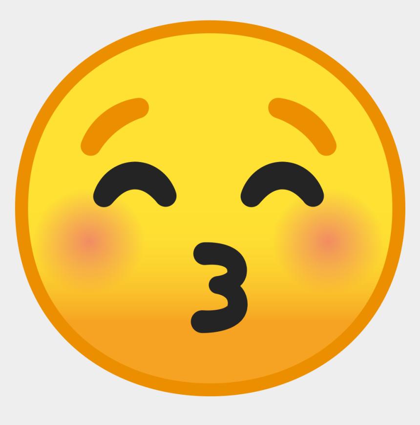 closed eyes clip art, Cartoons - Kissing Face With Closed Eyes Icon - Kissing Face With Closed Eyes Emoji