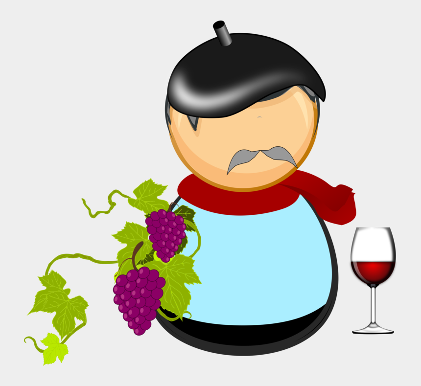 wine glass and grapes clip art, Cartoons - Plant,food,computer Icons - Transparent Grape Vine Png