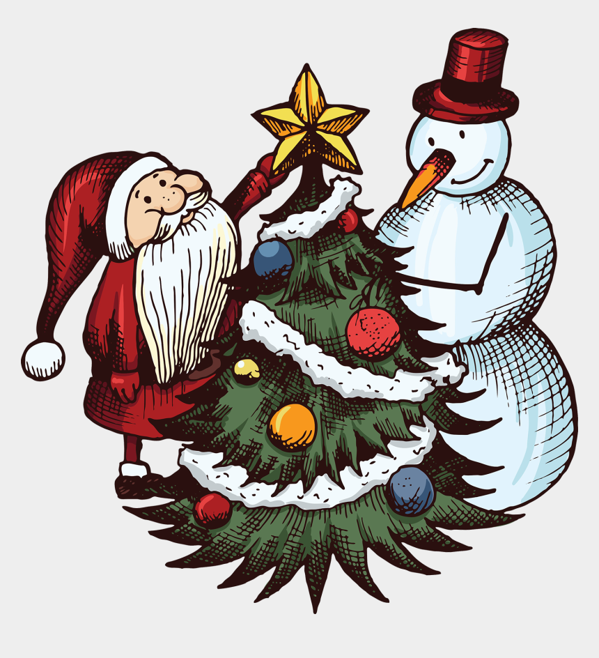 christmas day clip art, Cartoons - Santa1 - Drawings On Christmas Festival