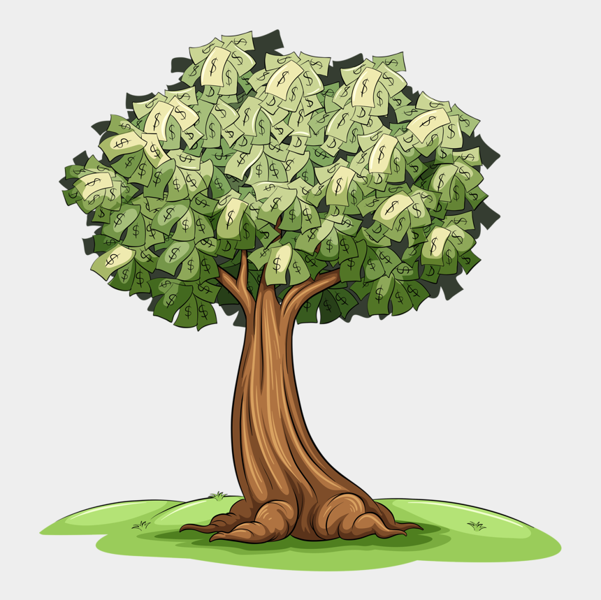 money tree clip art, Cartoons - Money Doesn T Grow On Trees