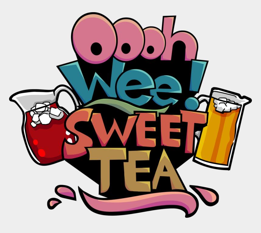 iced tea clip art, Cartoons - Ooh Wee Sweet Tea Clipart , Png Download