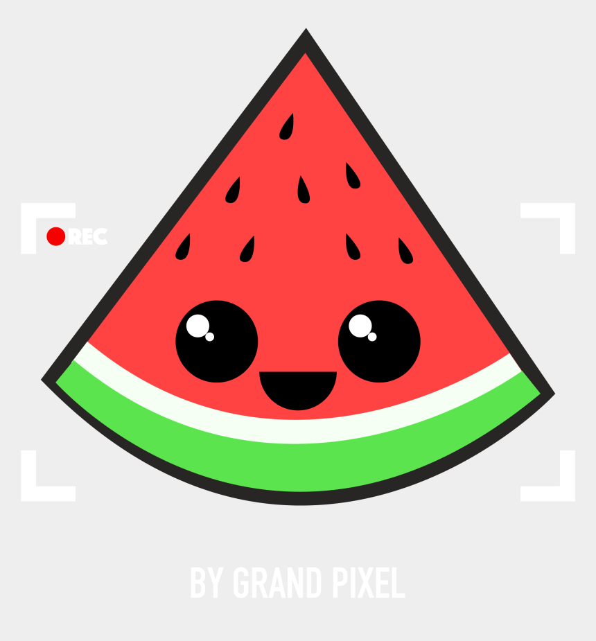 watermelon images clip art, Cartoons - Sweet Watermelon - Food Kawaii Cute Easy Drawings
