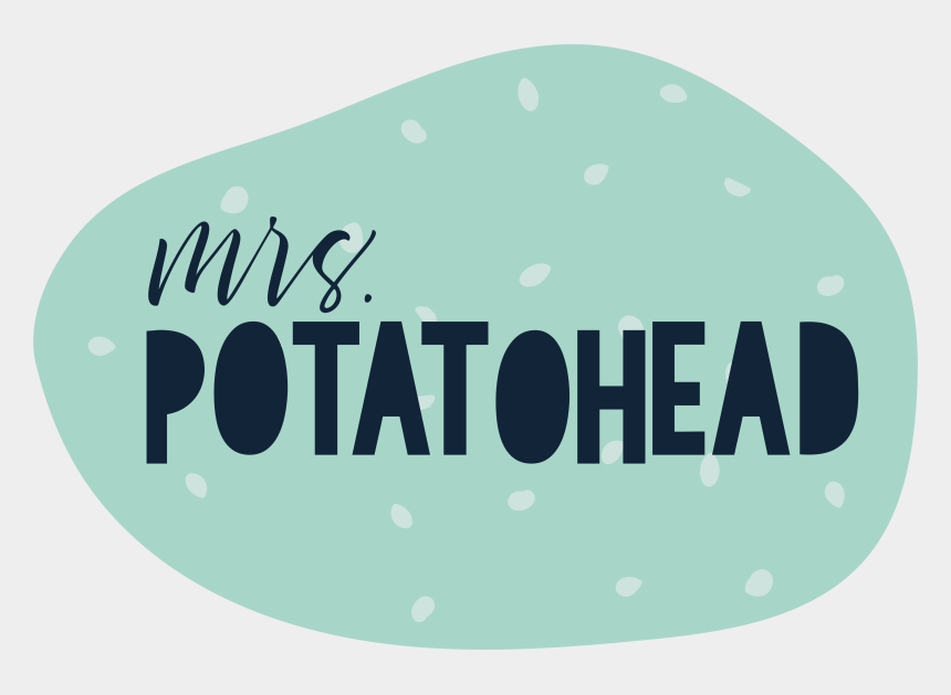 mrs potato head clip art, Cartoons - Mrs Potatohead - Graphic Design