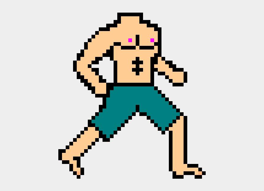 muscle man clip art, Cartoons - Clip Art