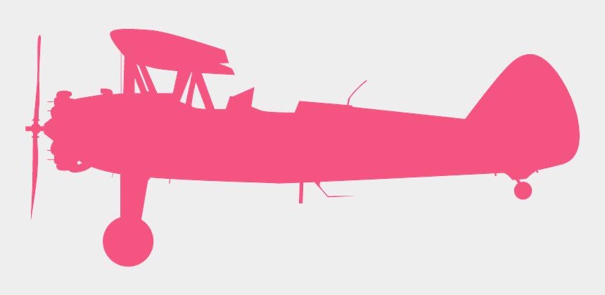 model clip art, Cartoons - Boeing Stearman Vector