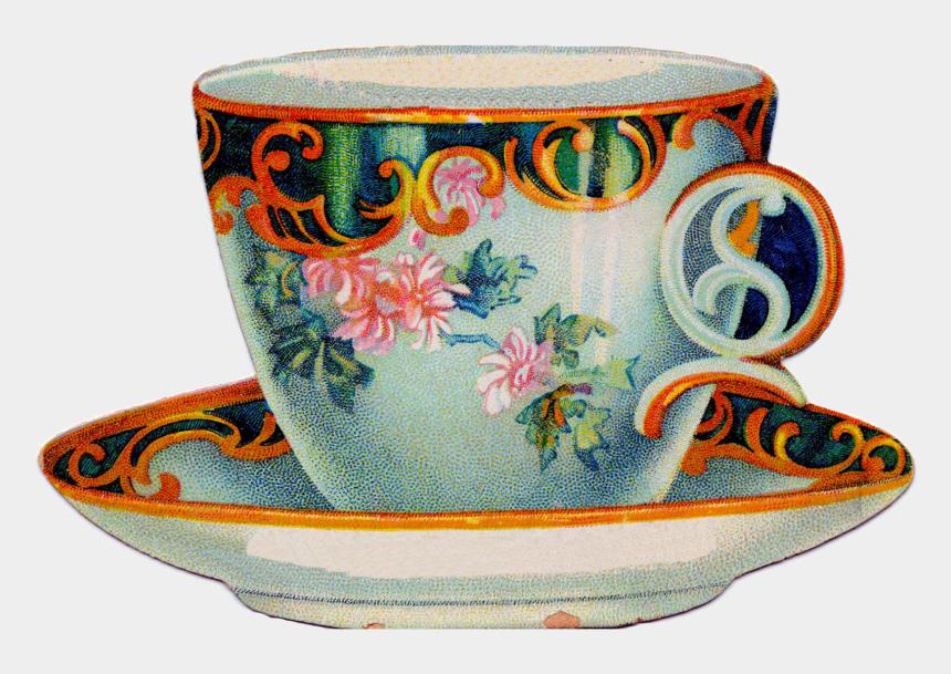teacup clip art, Cartoons - Teacup Clipart Cream Tea - Tea Cup Clipart Vintage