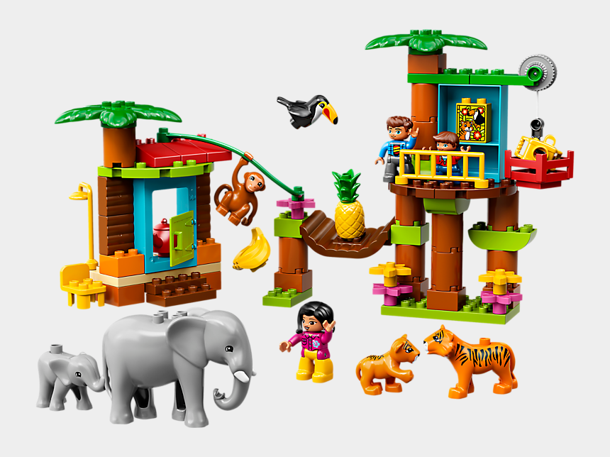 tropical island clip art, Cartoons - Lego Duplo Tropical Island