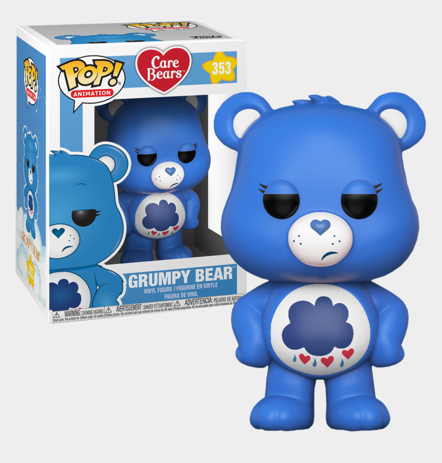 care bear clip art, Cartoons - Grumpy Bear Pop Vinyl Figure