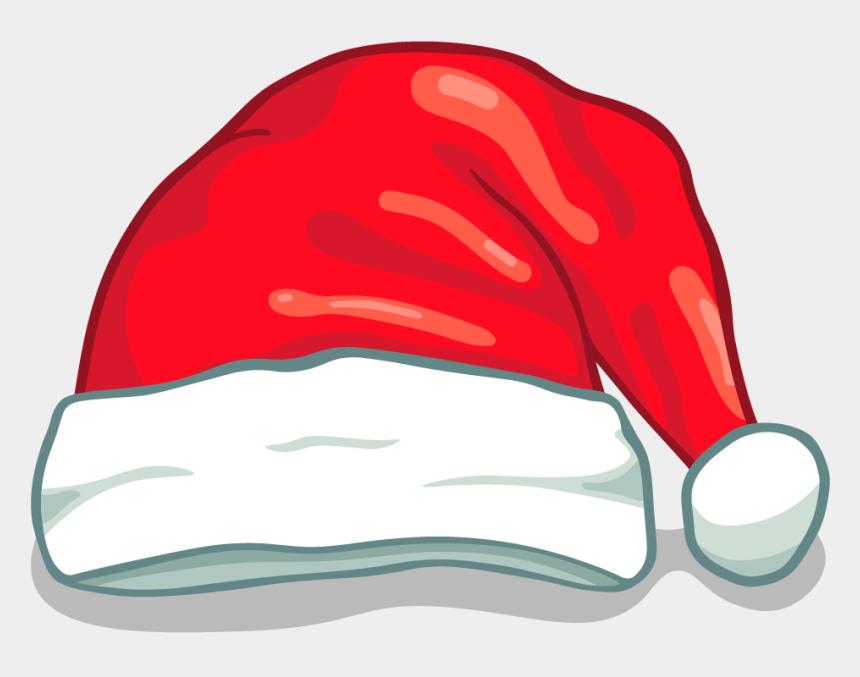 santa hats clip art, Cartoons - Black Christmas Hat Png