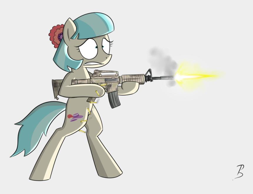 gun clipart, Cartoons - Gun Clipart Png - Pony With A Gun