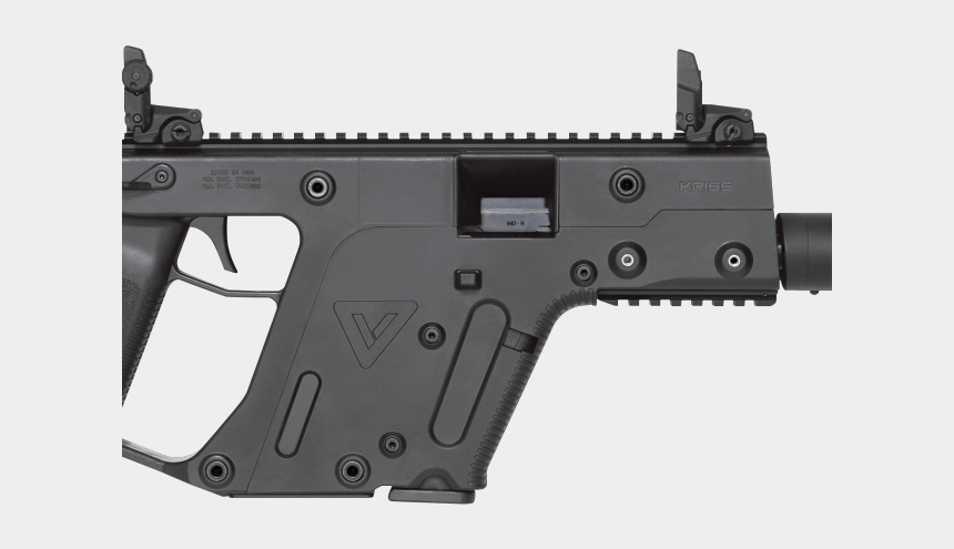 gun clipart, Cartoons - Machine Gun Clipart Futuristic Gun - Kriss Vector 45