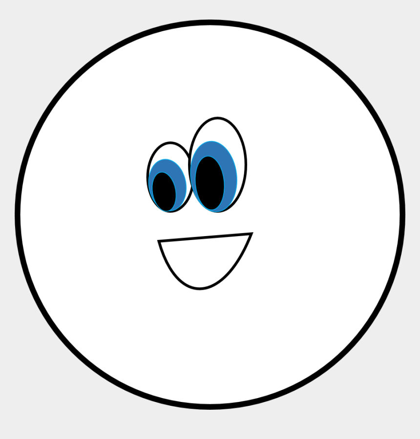 circle clipart, Cartoons - Circle Clipart Black And White - Oval Shape Clipart Black And White