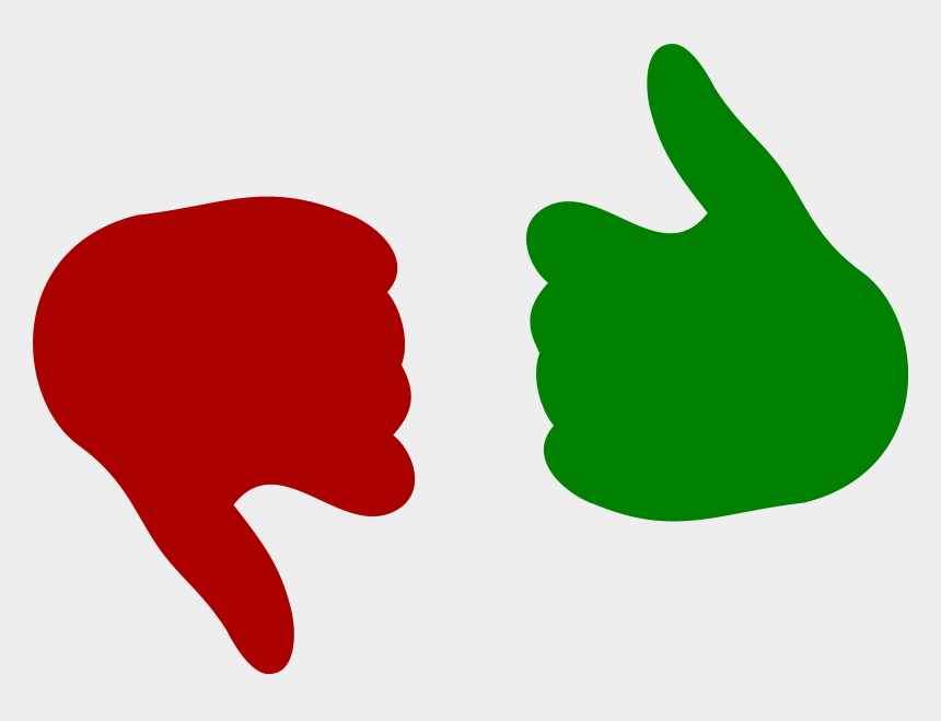 thumbs up clipart, Cartoons - Thumbs Up Down Big Image - Thumbs Up And Down Png