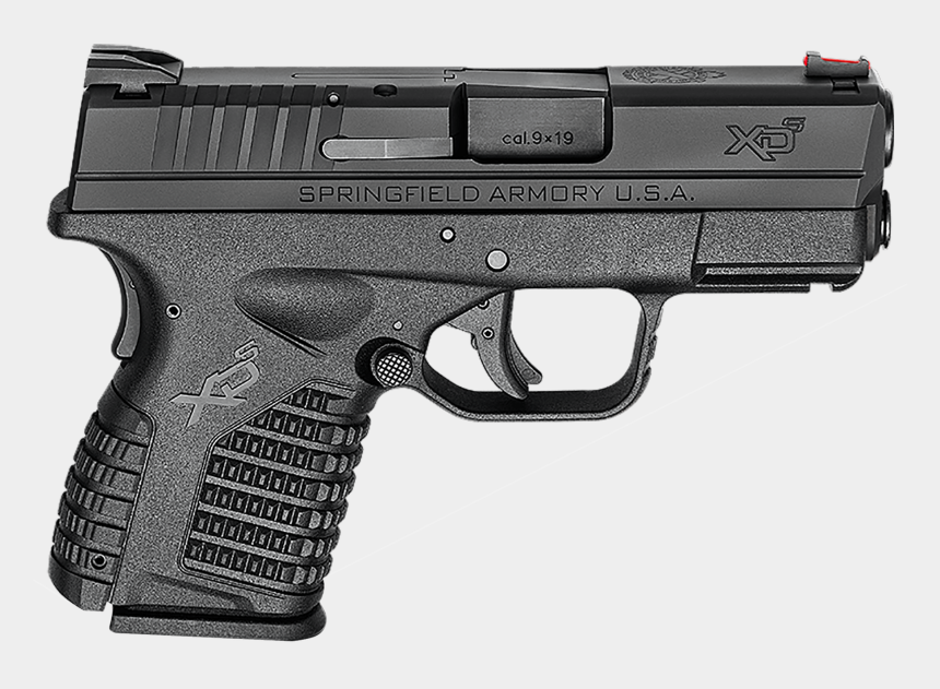 gun clipart, Cartoons - Image - Springfield Armory Xds 9mm