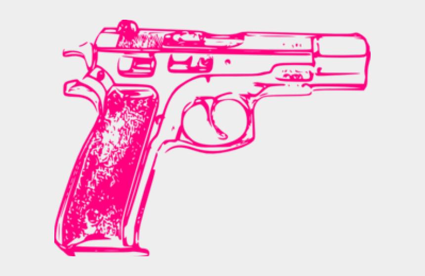 gun clipart, Cartoons - Pink Gun Clipart