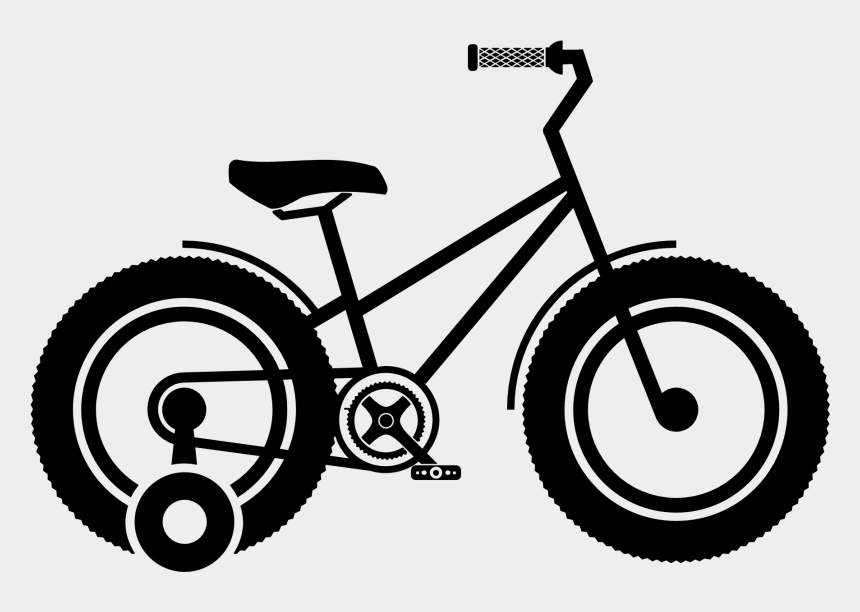 wheel clipart, Cartoons - Organizational Wheels Precoil Medium When I Learned - Bike With Training Wheels Drawing
