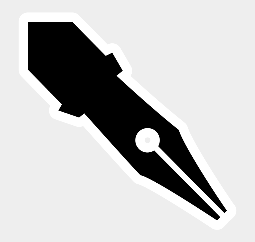 pen clipart, Cartoons - Nib Quill Fountain Pen Pens Dip Pen - Pen Tip